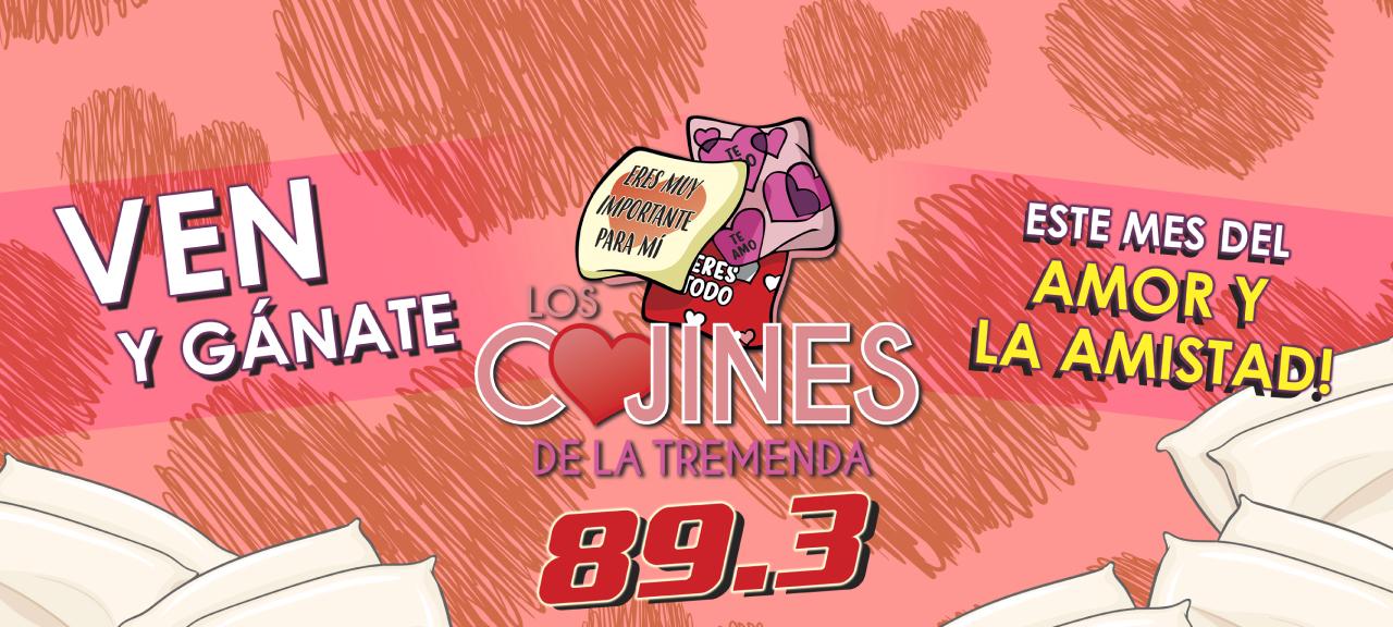 LOS COJINES DE LA TREMENDA