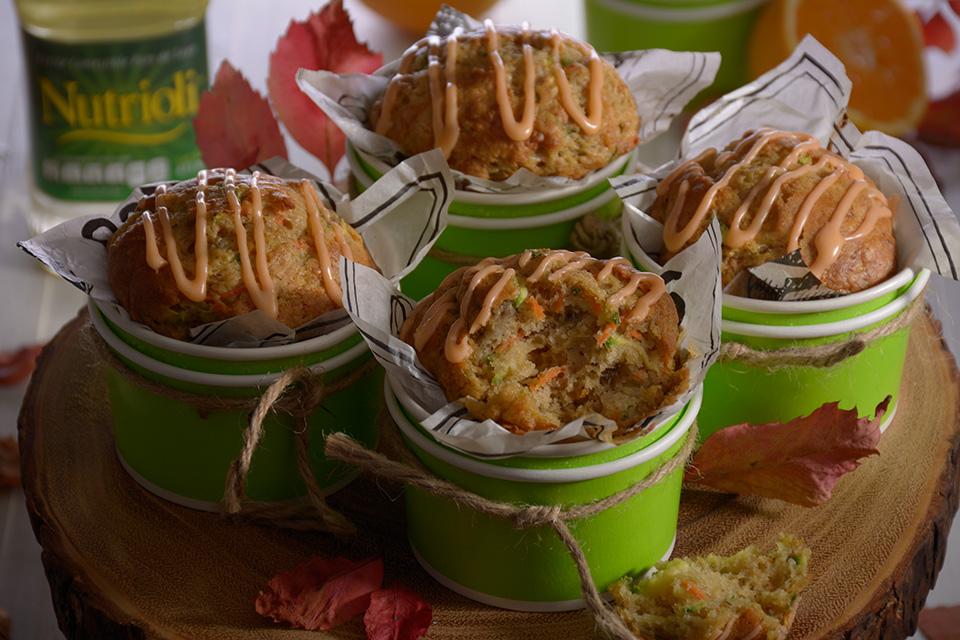 Muffins de calabacita