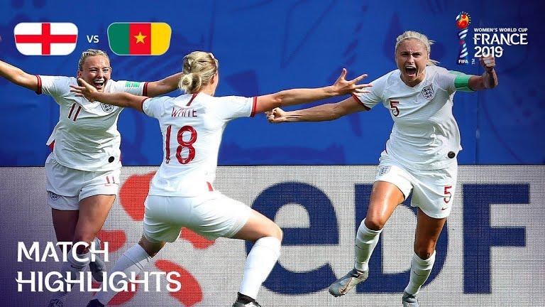 Inglaterra ya está en Cuartos de Final del Mundial Femenil 2019