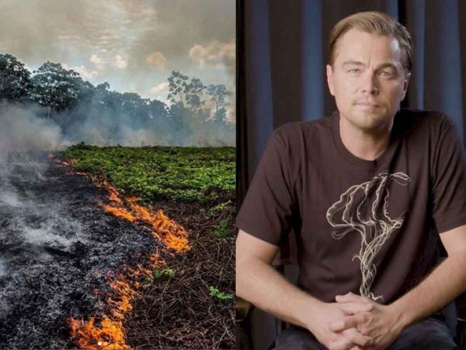 El Amazonas necesita más que oraciones: Leonardo DiCaprio