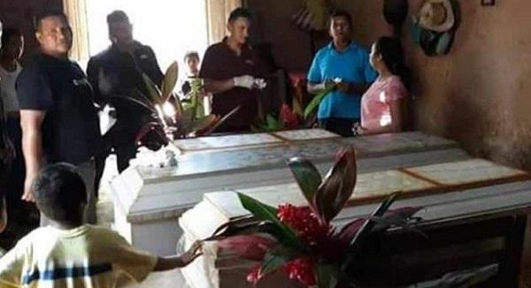 Por malentendido en Facebook, hombre envenena a sus tres hijos y se suicida